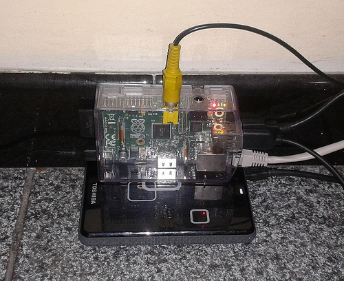 Raspberry Pi - USB Hard drive
